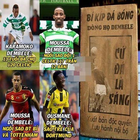 Anh che: Oezil, Pirlo 'nga mu' voi dang cap kien tao cua Rooney; Giroud 'go ca nguoi' cung co cho xai duoc - Anh 2