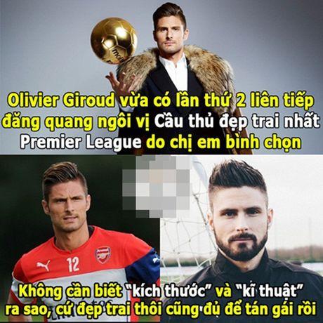 Anh che: Oezil, Pirlo 'nga mu' voi dang cap kien tao cua Rooney; Giroud 'go ca nguoi' cung co cho xai duoc - Anh 7