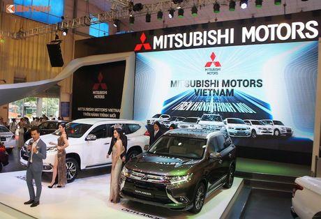 Mitsubishi Motors Viet Nam 'hoan toan moi' tai VMS 2016 - Anh 1