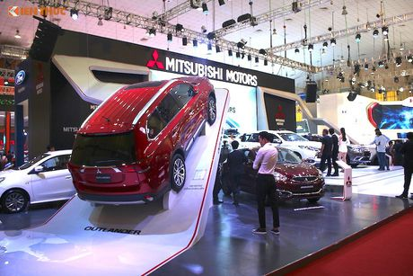 Mitsubishi Motors Viet Nam 'hoan toan moi' tai VMS 2016 - Anh 2