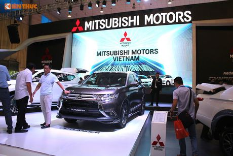 Mitsubishi Motors Viet Nam 'hoan toan moi' tai VMS 2016 - Anh 9