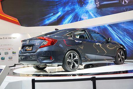 Honda Civic 2017 ra mat tai Viet Nam - Anh 11