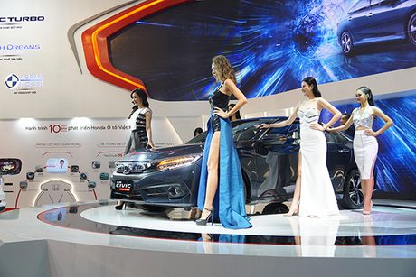 Honda Civic 2017 ra mat tai Viet Nam - Anh 3