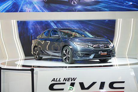 Honda Civic 2017 ra mat tai Viet Nam - Anh 6