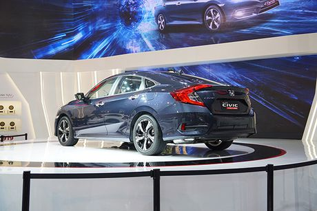 Honda Civic 2017 ra mat tai Viet Nam - Anh 7