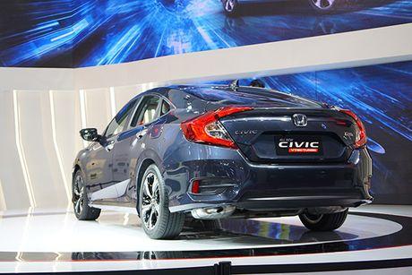 Honda Civic 2017 ra mat tai Viet Nam - Anh 8
