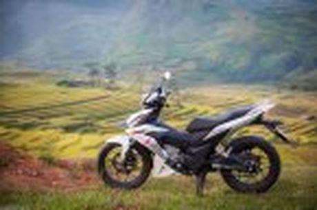 Hanh trinh Honda WINNER 150 chang 2 - chinh phuc Cuc Tay A Pa Chai - Anh 17