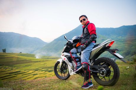 Hanh trinh Honda WINNER 150 chang 2 - chinh phuc Cuc Tay A Pa Chai - Anh 1