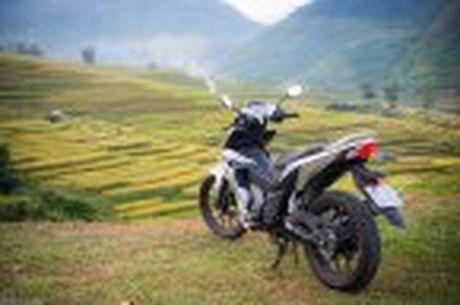 Hanh trinh Honda WINNER 150 chang 2 - chinh phuc Cuc Tay A Pa Chai - Anh 20