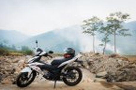 Hanh trinh Honda WINNER 150 chang 2 - chinh phuc Cuc Tay A Pa Chai - Anh 23