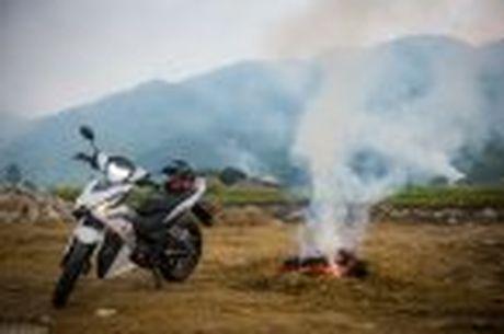 Hanh trinh Honda WINNER 150 chang 2 - chinh phuc Cuc Tay A Pa Chai - Anh 25