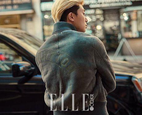 My nam Park Seo Joon cuc chat voi mai toc vang lang tu - Anh 2