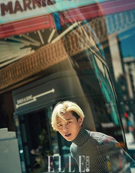 My nam Park Seo Joon cuc chat voi mai toc vang lang tu - Anh 5