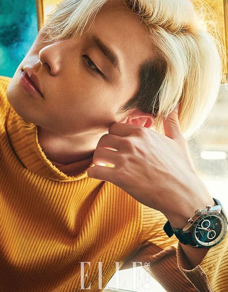 My nam Park Seo Joon cuc chat voi mai toc vang lang tu - Anh 7