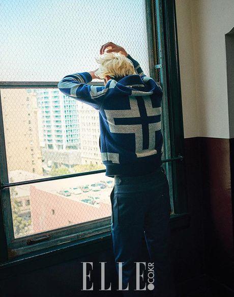 My nam Park Seo Joon cuc chat voi mai toc vang lang tu - Anh 8