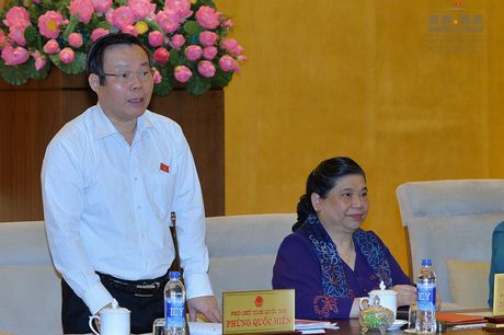 PCT Phung Quoc Hien: 'De nghi thao luan het y kien, ke ca toi 23h' - Anh 1