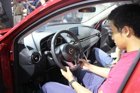Mazda CX-3 'phien ban thu nho cua CX-5' gay chu y tai VMS 2016 - Anh 1