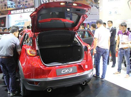 Mazda CX-3 'phien ban thu nho cua CX-5' gay chu y tai VMS 2016 - Anh 2