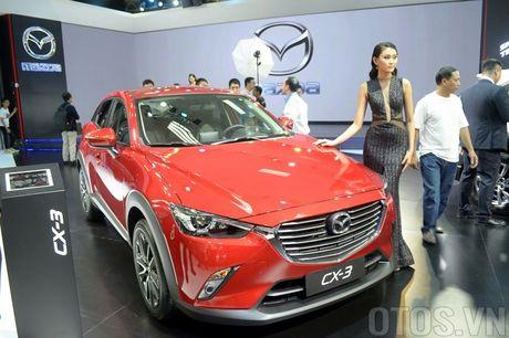 Mazda CX-3 'phien ban thu nho cua CX-5' gay chu y tai VMS 2016 - Anh 5