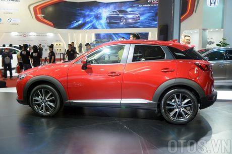 Mazda CX-3 'phien ban thu nho cua CX-5' gay chu y tai VMS 2016 - Anh 6