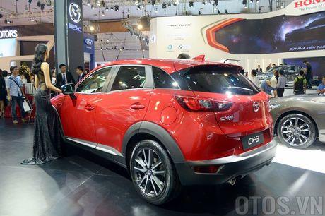 Mazda CX-3 'phien ban thu nho cua CX-5' gay chu y tai VMS 2016 - Anh 9