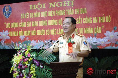 Khong huy chuong nao bang danh gia cua nguoi dan voi viec lam tot cua CSGT Thu do - Anh 1