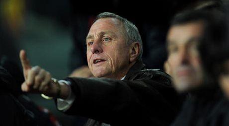 Doi hinh vi dai cua Johan Cruyff: Vang bong Messi - Anh 1