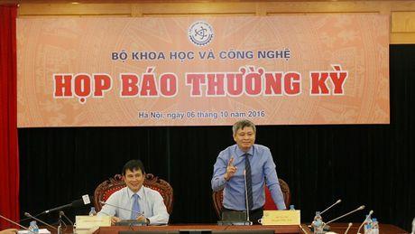 Bo KH&CN to chuc hop bao thuong ky Quy III nam 2016 - Anh 1