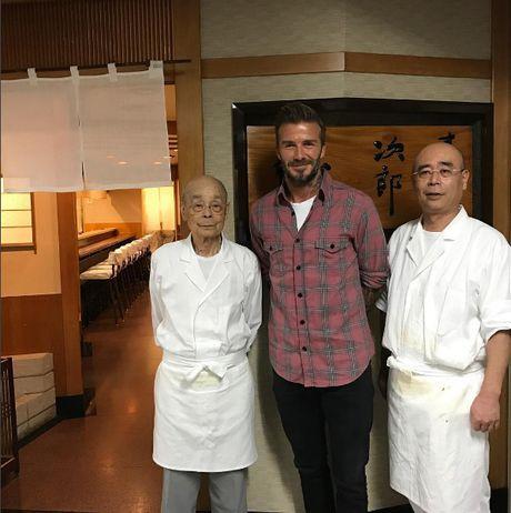 Quan sushi huyen thoai duoc Beckham ca tung het loi - Anh 1