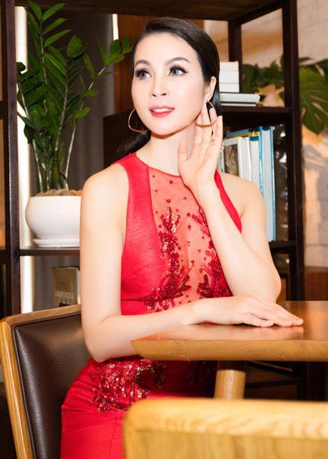 Me man voi ve dep rang ngoi cua MC Thanh Mai - Anh 2