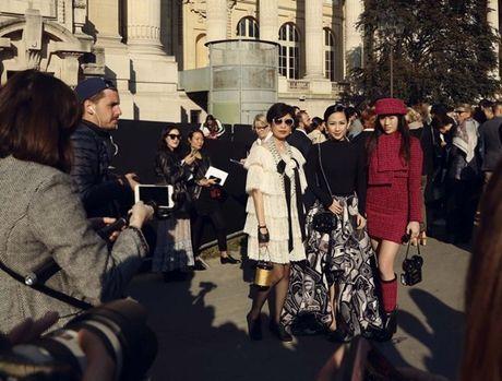 Fashionista Tram Nguyen duoc san don tai tuan le thoi trang Paris - Anh 3