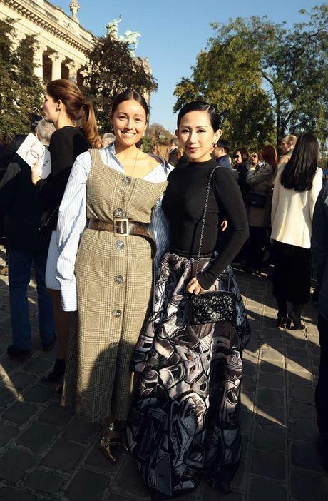 Fashionista Tram Nguyen duoc san don tai tuan le thoi trang Paris - Anh 4