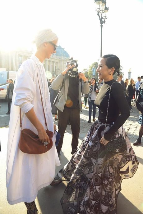 Fashionista Tram Nguyen duoc san don tai tuan le thoi trang Paris - Anh 5
