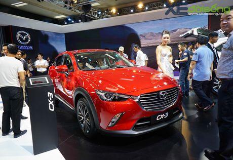 Can canh Mazda CX-3 gia tren 700 trieu dong tai VMS 2016 - Anh 1