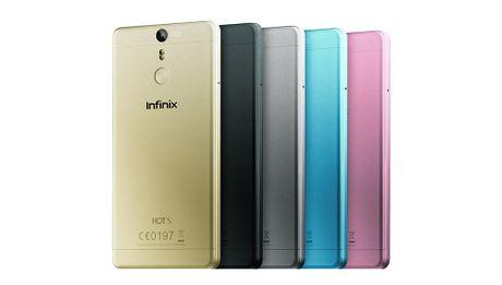Infinix Hot S: chip 8 nhan, van tay, gia 3,3 trieu - Anh 1