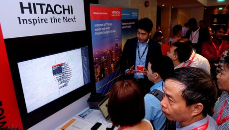Hitachi cung cap ha tang cho Duong sat so 1 Tp.HCM - Anh 2