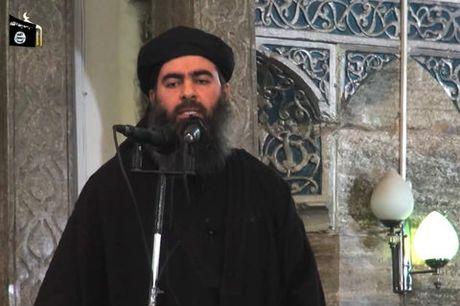 Thu linh Abu al-Baghdadi cua IS nghi bi cap duoi ha doc o Iraq - Anh 1