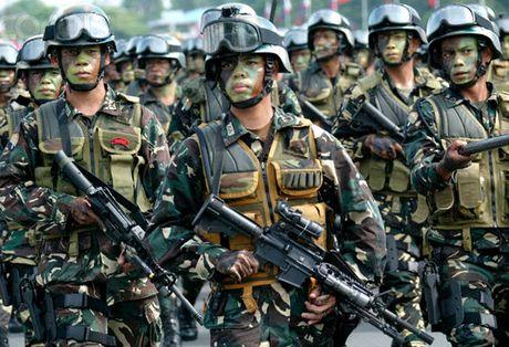 Quan doi Philippines muon giam le thuoc vao My - Anh 1