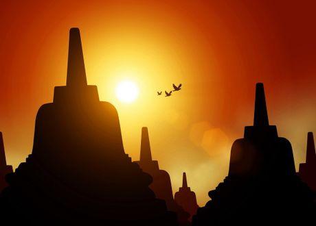 Kham pha Borobudur ky quan Phat giao lon nhat the gioi - Anh 13