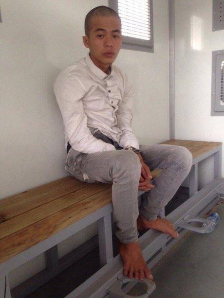Bat doi tuong tron lenh truy na tai Binh Duong - Anh 1