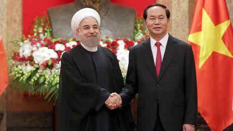 Tong thong Iran Hassan Rouhani tham Viet Nam - Anh 1