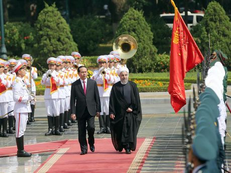 Tong thong Iran Hassan Rouhani tham Viet Nam - Anh 6