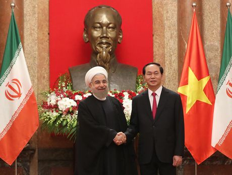 Tong thong Iran Hassan Rouhani tham Viet Nam - Anh 8