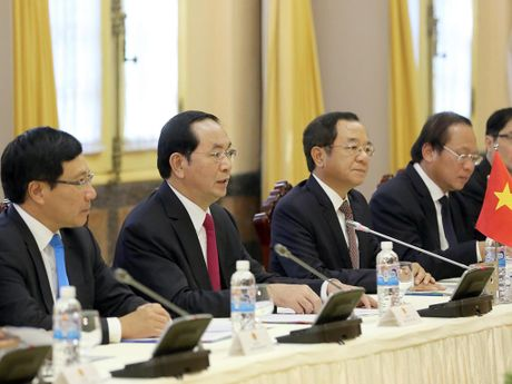 Tong thong Iran Hassan Rouhani tham Viet Nam - Anh 9