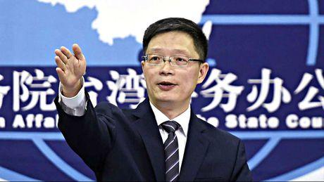 Trung Quoc chi trich vu lanh dao Dai Loan 'tranh doi dau nhung khong cui dau' - Anh 1