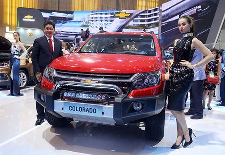 Chevrolet Colorado 2017 ra mat khach hang Viet, gia tu 600 trieu dong - Anh 1