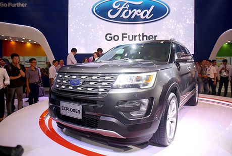 Chiem nguong gia dinh dong co EcoBoost cua Ford tai Trien lam O to Viet Nam 2016 - Anh 4