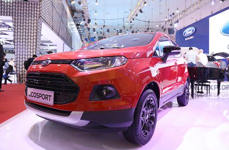 Chiem nguong gia dinh dong co EcoBoost cua Ford tai Trien lam O to Viet Nam 2016 - Anh 6