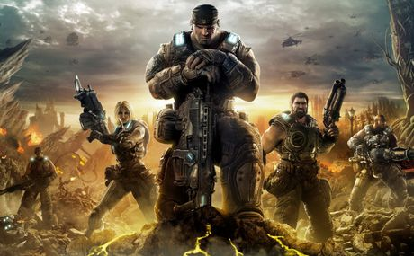 Loat tro choi dinh dam 'Gears of War' len phim - Anh 1
