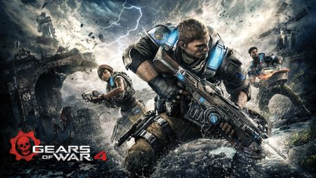 Loat tro choi dinh dam 'Gears of War' len phim - Anh 2